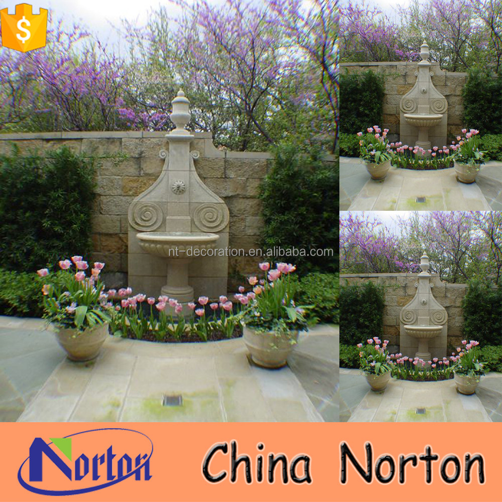 Norton classical style spanish style wall fountain for Villa works NTMF-WF019L