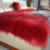 custom faux fur rug dyed colors warm pad for sofa bed fur sofa cover