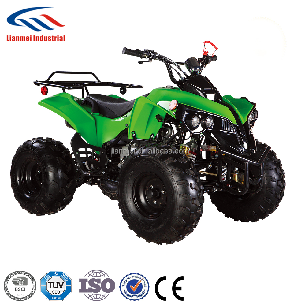 big power four stroke atv for kids 110cc atv