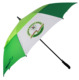 "30"" pongee fabric firberglass frame double canpoy windproof golf umbrella, custom logo printing golf umbrella"