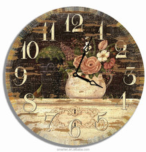 Fashion garden outdoor shabby chic vintage wall clock