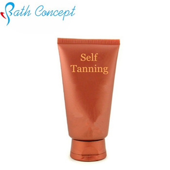 Indoor tanning/self tanning lotion with sunless