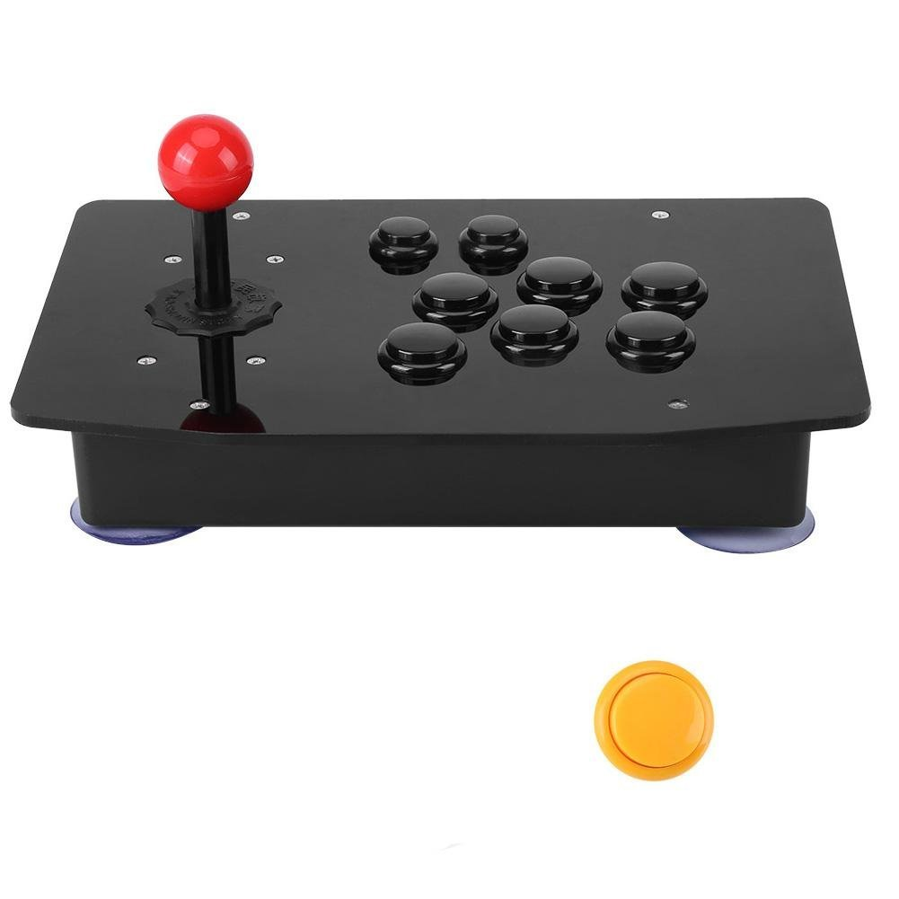 USB Arcade Game Controller, Zero Delay Classical Game Controller Joystick Handle Buttons for Arcade PC Computer