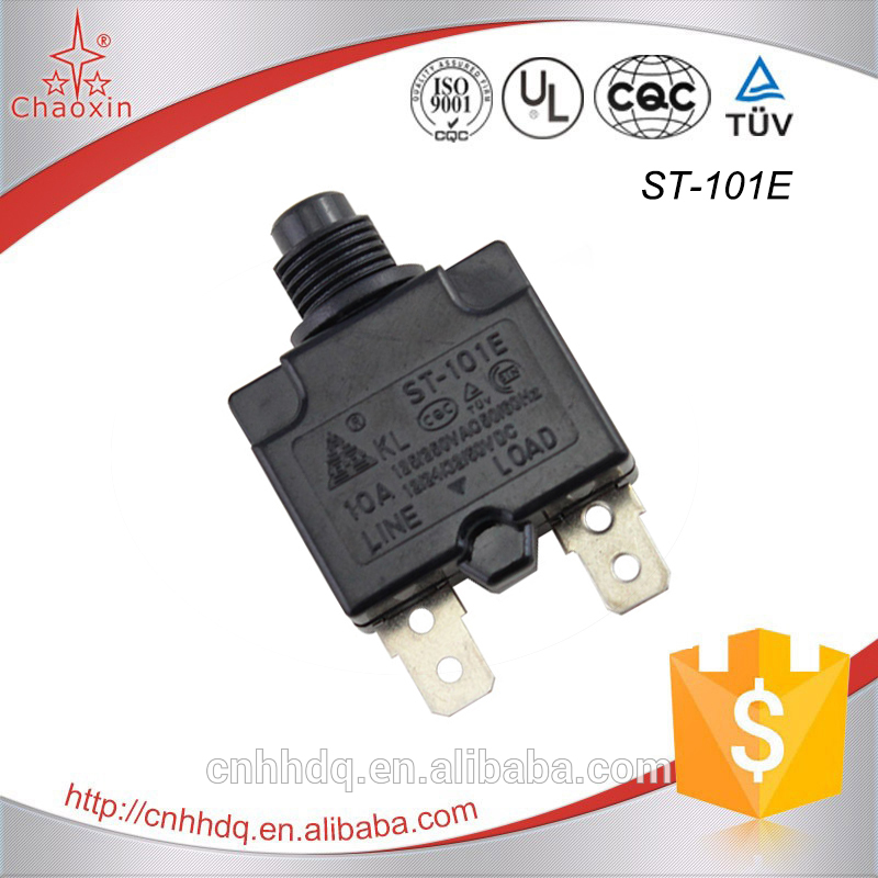 New design compressor overload protector switch