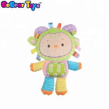 Bobeartoys Cartoon Newborn Baby Girl Soft Toys Sheep Plush Stuffed