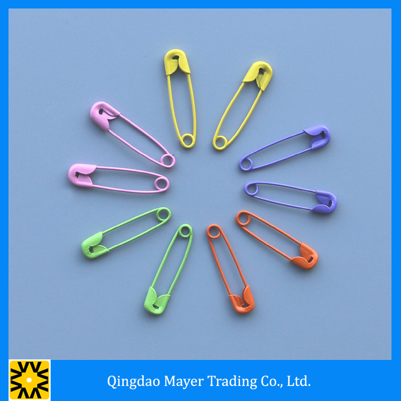 Race Number Metal Loop Round Safety Pin