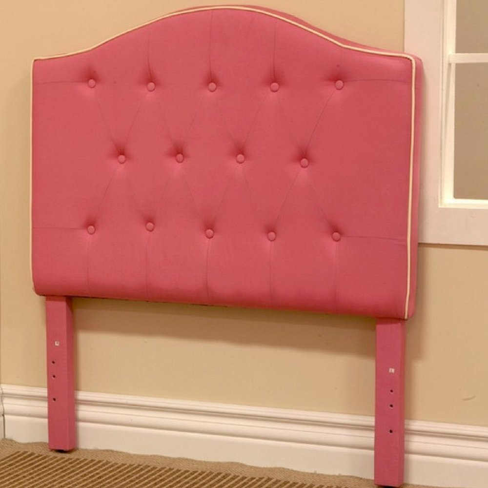 tufted light into the pink queen glass headboard