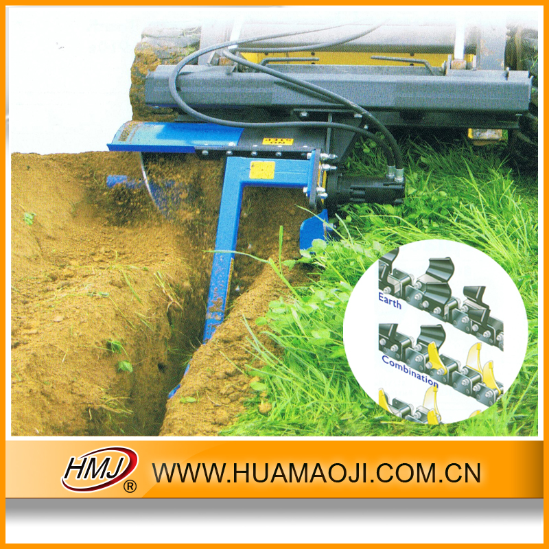 Professional trenching machine professional for laying optical fiber made in China