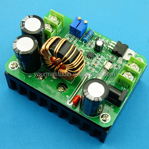 Newest Design 600W DC DC 10V-60V 12-80V Step Up Module For Solar Laptop Power Supply
