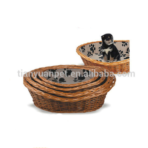 Durable Wicker Rattan Dog Bed From China Supplier