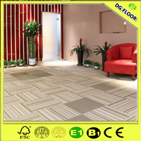 Cheap Floor Berber Carpet Tiles for Basement Easy Clearance