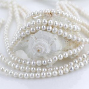 2018 Hot pearl jewelry pear necklace with natural pearl