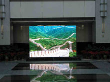 6 pixel pitch indoor led display full color vedio with high quality