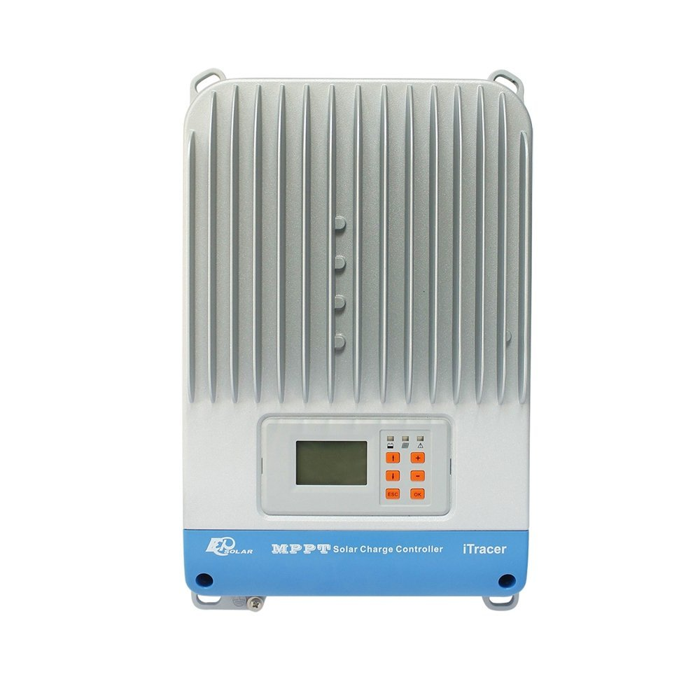 Y-SOLAR MPPT 30A 40A 60A 150V LCD Displays Solar Charge Controller with Network Function for Sealed Gel Flooded and User-defined Battery (30A)