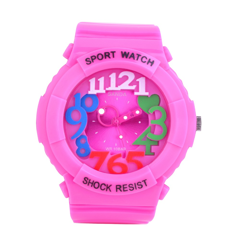 Fashion Brand Children Quartz Watch Waterproof Jelly Kids Watches For boys girls Students Wristwatch PZ277
