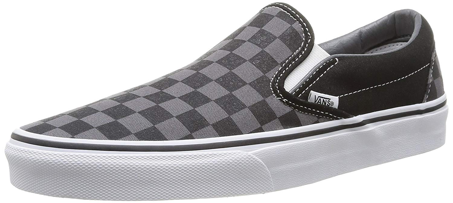 Get Quotations · Vans Unisex Classic (Checkerboard) Slip-On Skate Shoe cfd680bf2