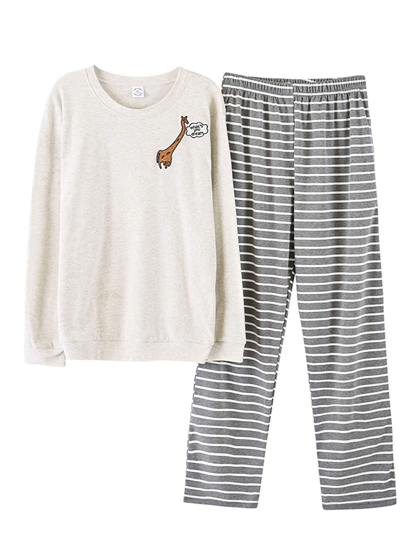 270f0ae847 Get Quotations · Big Boys Winter Knit Sleepwear Lounge Set Long Sleeve Pajama  T-Shirt and Pants