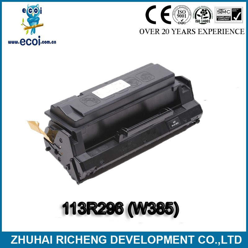 black toner 113R296 compatible toner W385 for WorkCentre 385/390 buy direct from china factory