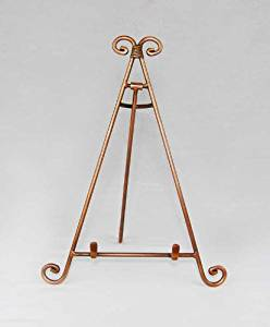 Easels, Decorative Easels from Easels by Amron, 13 Inches High (Copper)