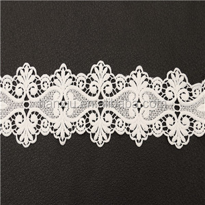 Chinese Wholesale Elastic Flower Lace Trim/Lace Trimming In Good Price
