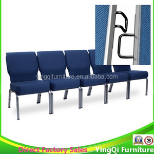 Used Cheap Royal Blue Church Chairs for Sale