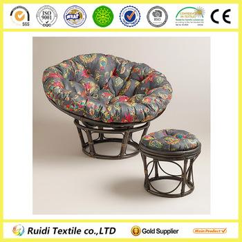 Antigua Micro Suede Outdoor Papasan Chair Stool Cushion Buy