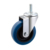 Medium duty 3/4/5 Inch thermoplastic rubber Swivel Threaded Stem Casters