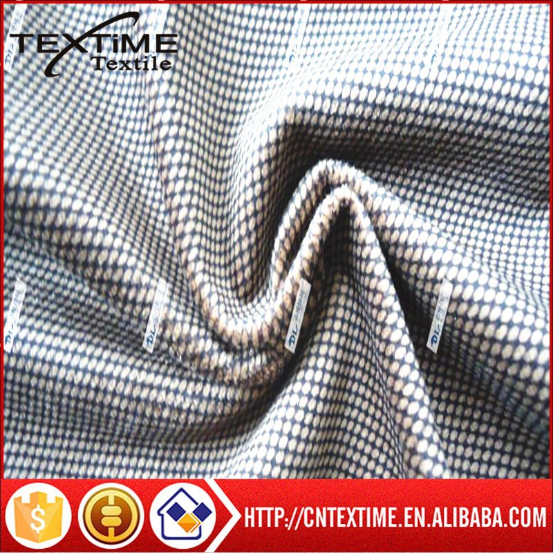 100% polyester casual attire printing fabric/garments fabric