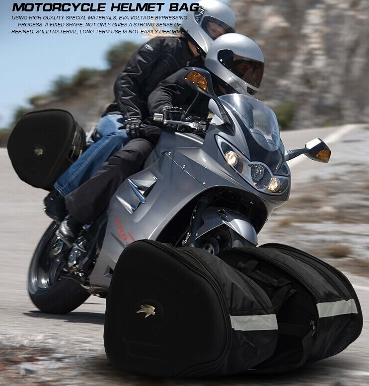 neue schwarz multifunktions reiten reisegep ck moto racing. Black Bedroom Furniture Sets. Home Design Ideas
