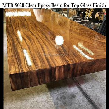 Wood Table Topcoat Gl Finish Epoxy Resin And Hardner
