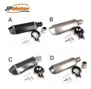 JPMotor 250cc Chinese Stainless Steel Motorcycle Exhaust Muffler