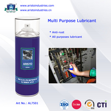 Multi Purpose Lubricant/All Purposes Industrial Lubricants 400ml Anti-rust Oil Based Aerosol Silicone Spray Lubricant