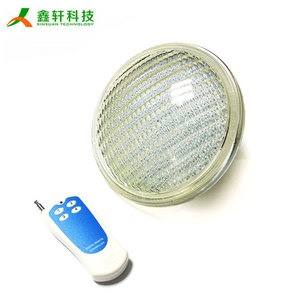 par56 led swimming pool lights underwater mulit color led lamp 12v waterproof led light for swimming pool