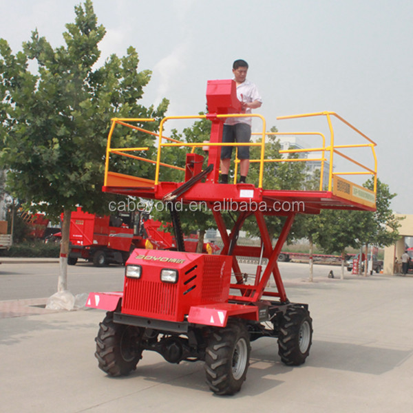 manufacturer of self propelled orchard machine for fruit tree