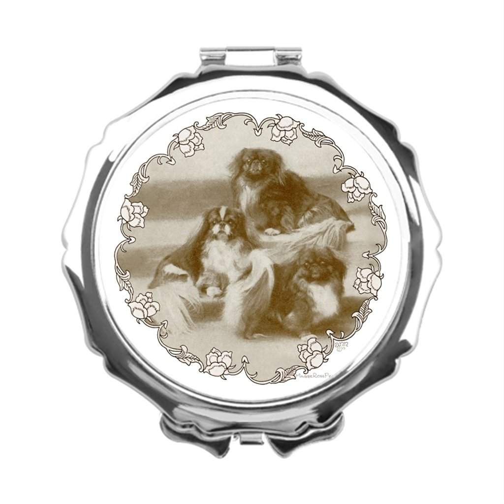 AbbyDay Wall Makeup Mirror Maggie Ross Pekingese Vanity Makeup Mirror Diy Makeup Mirror Pekinese Personalised Compact Mirror