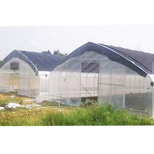 latest uv plastic used greenhouse structure vegetable green house