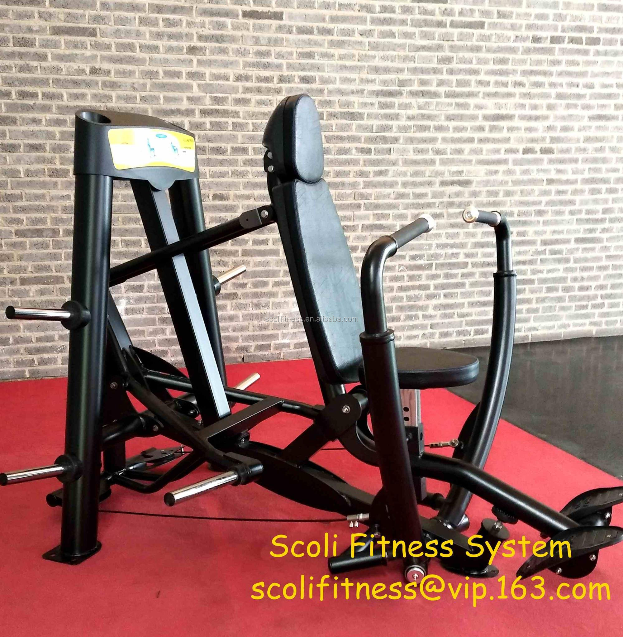 Hoist Gym banhado equipamentos de Fitness carregado / Gym Machine / Decline Chest Press