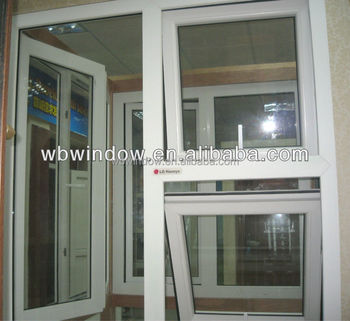 Used windows and doors pvc top hung window ventilation for Recycled windows and doors