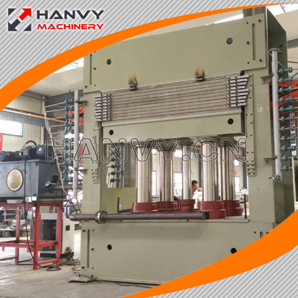 2017 hot sale plywood hot press machine veneer hot press and hot press machine in China