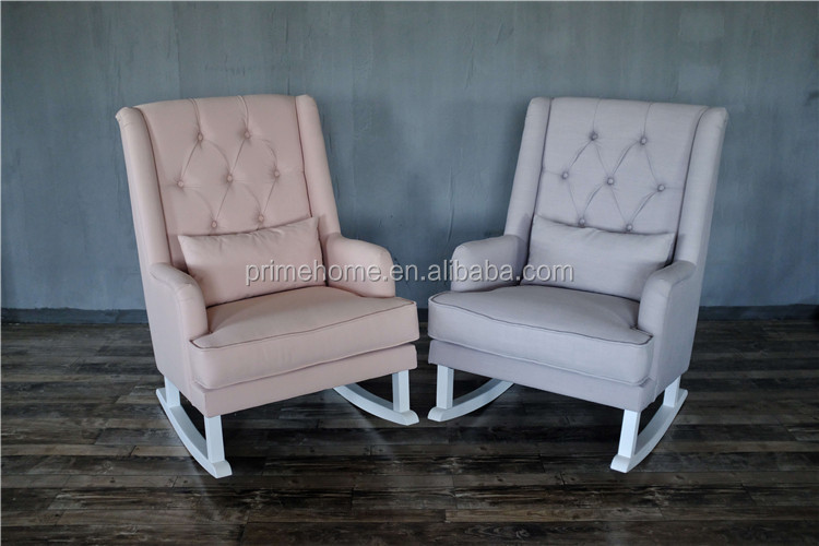 New Design Antique Wooden Rocking Chair, Comfortable Cheap Rocking Chairs