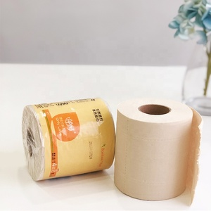 2019 Trade Assurance Cheap Biodegradable Toilet Paper Printed Trump Bamboo Towels Roll