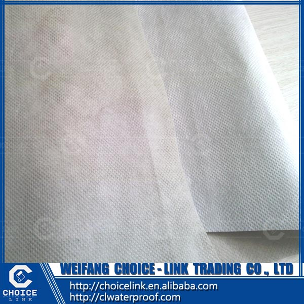roof material PP PET high polymer polyethylene compound waterproofing roll