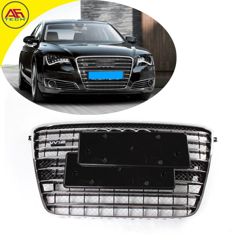 black frame black car grille w12 facelift grilles a8 mesh. Black Bedroom Furniture Sets. Home Design Ideas