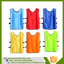 Hot sale cheap soccer scrimmage football training vests sport wear mesh vest