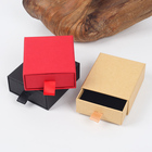 Customized small cardboard drawer slide jewelry box