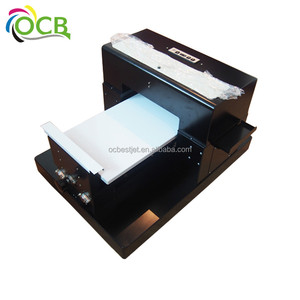 Ocbestjet Discount price! Small UV printer for PC shell, ABS PU leather, PVC material etc