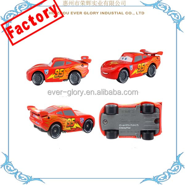 Manufacturer Pixar Plastic Pull Back Car Toy Action Driver Car