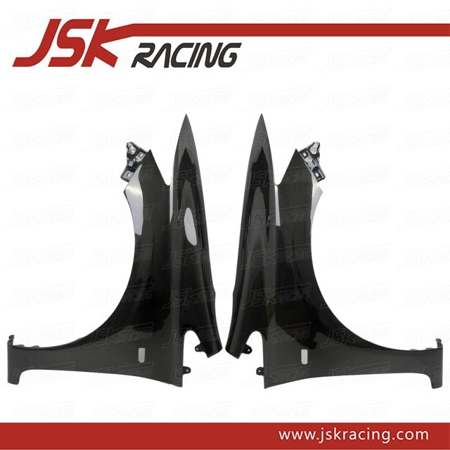OEM CARBON FIBER FRONT FENDER FOR 2011-2013 HONDA CIVIC FB 4DR (JSK122010)