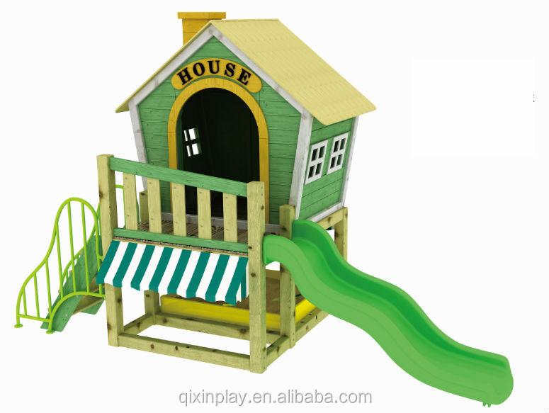 chine enfants bois maison de jeu avec toboggan pour vente childs petite maison de jeu pour. Black Bedroom Furniture Sets. Home Design Ideas