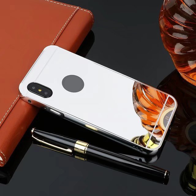 mirror cover case for iphone XS /XR/Max anti-scratch phone case, Various colors available